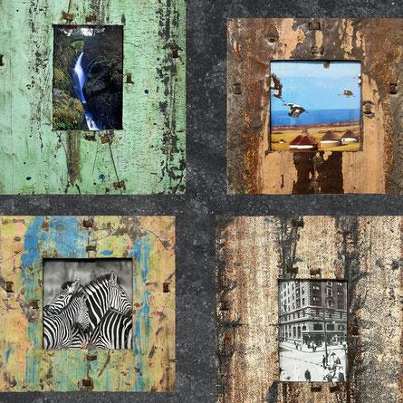 Portafoto in metallo