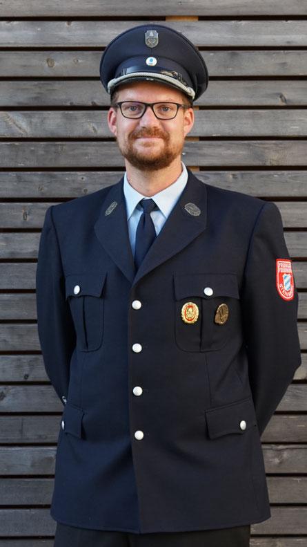 Sebastian Englert, 1. Kommandant der Freiwilligen Feuerwehr Steinmark