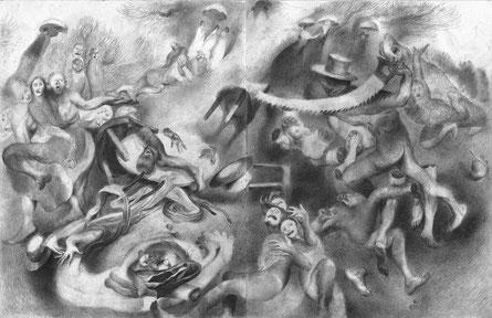 Matthias-Wyss-TAGESLICHT-DAYLIGHT-2011–2014-Pencil-On-Paper-22-x-44-Cm-6