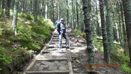 Schody do Babiej Góry