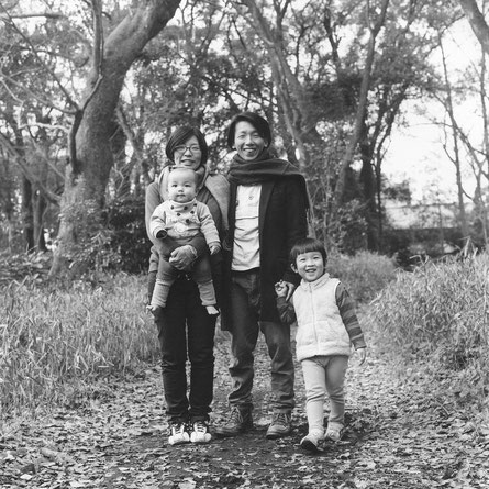 T様ご家族(2017年3月 白黒フィルム撮影)