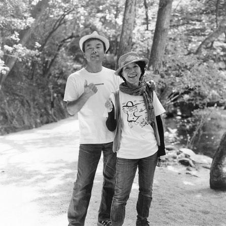 T様ご夫婦(2014年9月 白黒フィルム撮影)
