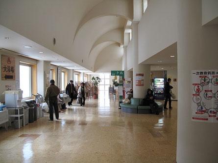 建物内部の様子 観光温泉というより地元の方の憩いの場的存在