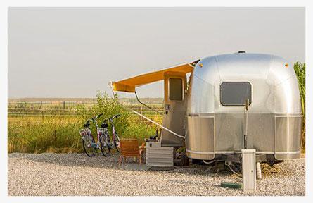 Camper-Ortung mit GPS