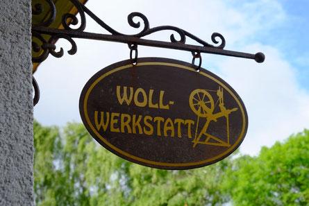 Logo Wollfratz Werkstatt