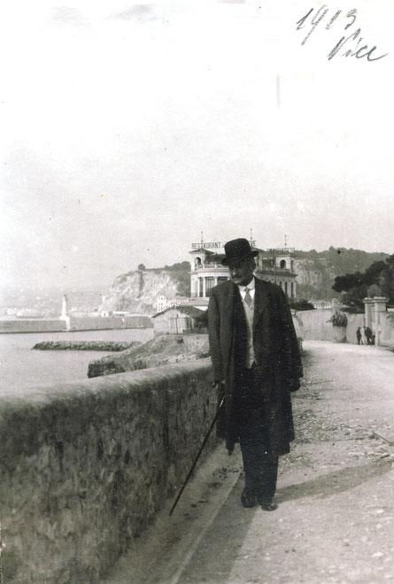 1913 Nizza (Jahreszahl passt nicht mit Tagebuch zusammen)