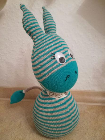 Socken-Zebra :-)