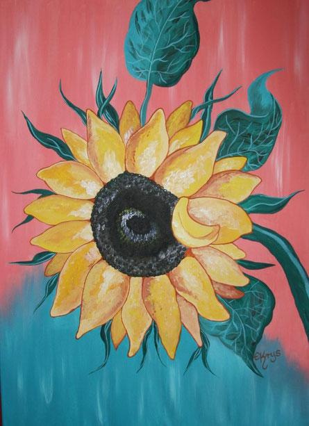Sonnenblumen-Bilder für ein Alten- und Pflegeheim ...