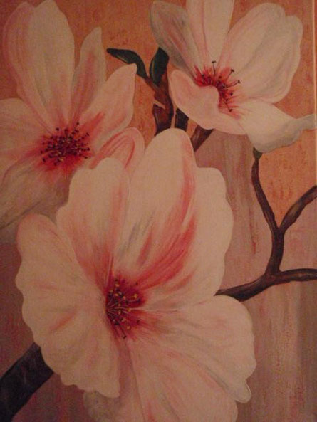 Kirschblütenzweig  70 x 50