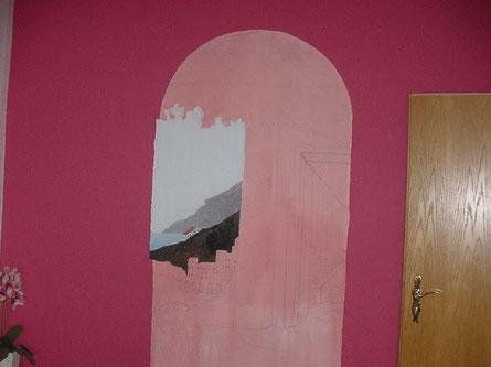 Beginn der Malerei ...