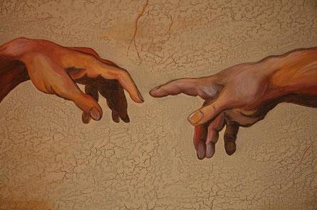 Hände nach Michelangelo