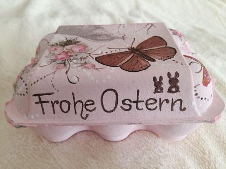 Eierkarton für Ostern ... :-) ..... Rückseite