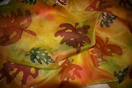 Seide - beliebtes Herbstmotiv
