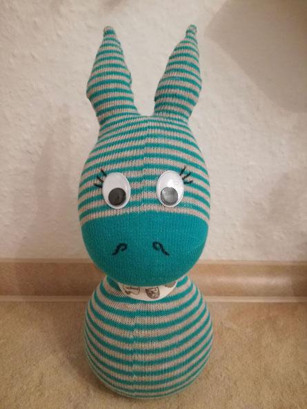 Socken-Zebra :o)