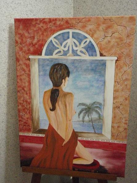 Acryl auf Leinwand 70 x 50