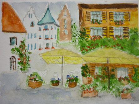 Kleinstadtidylle - nach Vorlage 3/2014