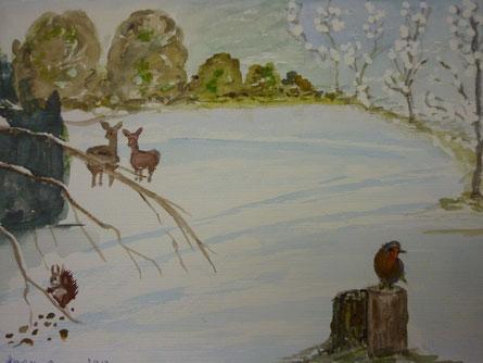 Okt. 2013  - Tiere im Schnee
