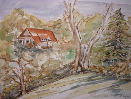 kleines Haus im Wald Feb. 2014
