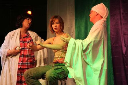 2009 - Het meisje dat het griezelen moest leren