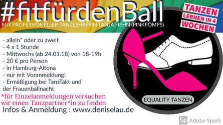 #fitfürdenBall - Tanzen lernen in 4 Wochen