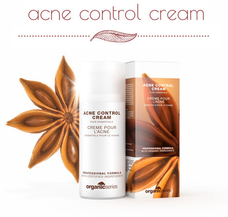 anti-akne acne control cream Hautpflege von OrganicSeries