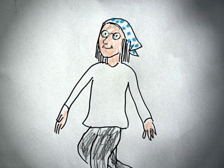 Zeichnung: Katrin Magnitz