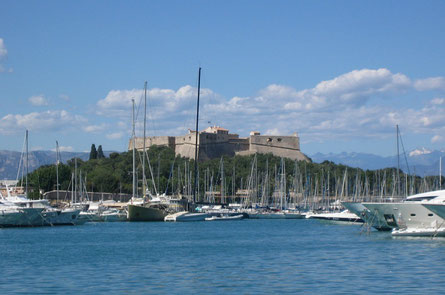 Antibes top things to do - Fort Carré Antibes - Copyright Cathrine Johansson