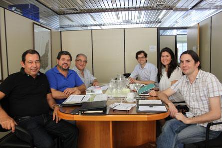 """Das Projektentwicklungsteam """"Puntas de José Ignacio"""" in enger Zusammenarbeit mit der Landesregierung MALDONADO"""