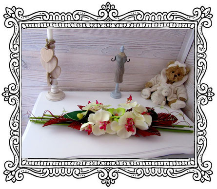 Arrangement de fleurs fait maison
