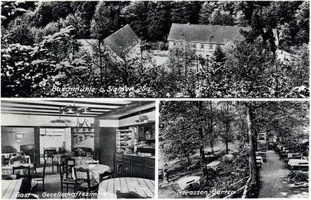 Bild: Seeligstadt Postkarte Buschmühle