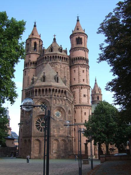 Catedral de Worms. Fuente: desconocida.