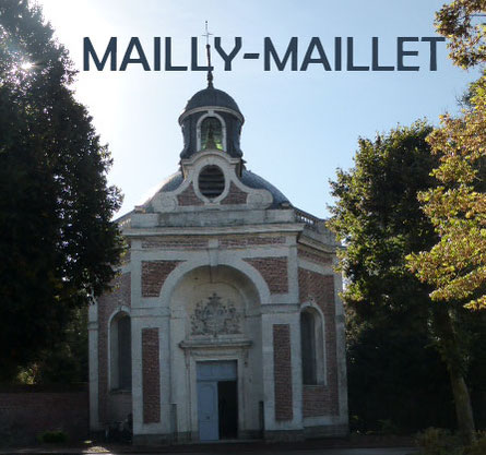 The chapel was hit by a dud shell which was found during the restauration campain in the 1980s.