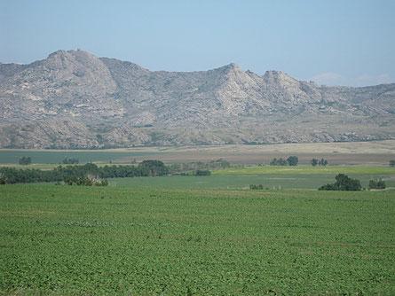 Дубыгалинские горы.