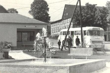 Bild: Wünschendorf Buswendeplatz 1975