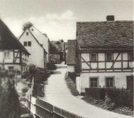 Bild: Teichler Wünschendorf Erzgebirge Dorfstaße