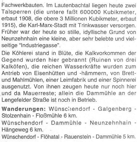 Bild: Wünschendorf Chronik Teichler