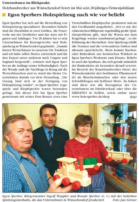 Bild: Egon SperberWünschendorf 2009