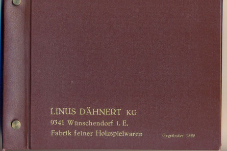 Bild: Wünschendorf Linus Dähnert Messekatalog