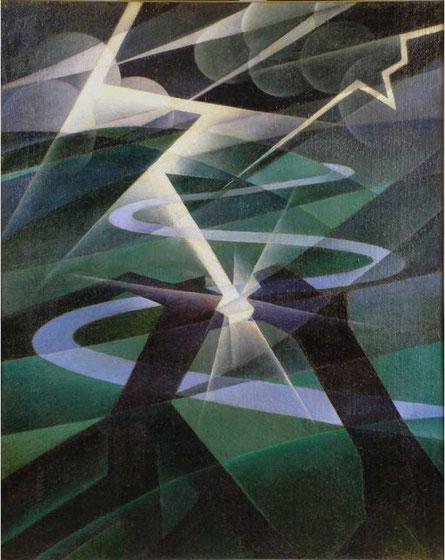 """Alessandro Bruschetti, """"Il fulmine"""" (1932)"""