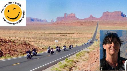 Mit einer Harley durch den Wilden Westen