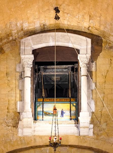 Bild: Les Saintes-Maries-de-la-Mer hier Église Notre Dame de la Mer  mit Reliquienschrein