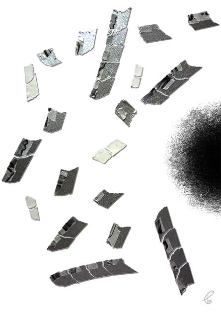 潜むもの/マスキングテープ PhotoshopCS6 2015,9.22