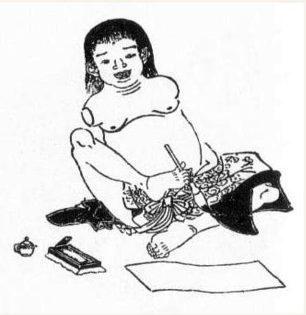 延宝年代の缶児。