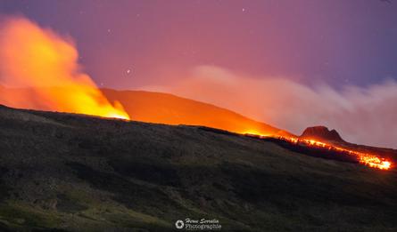 éruption Piton de La Fournaise