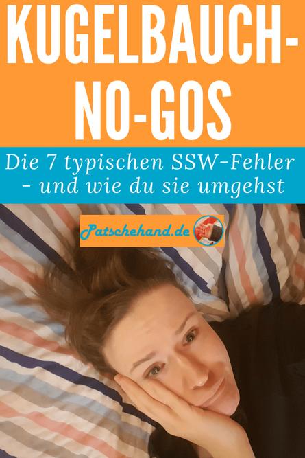 Die Kugelbauch-No-Gos: Welche Fehler Schwangere vermeiden sollten zum Pinnen auf Pinterest oder Teilen.