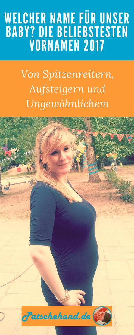 Mama-Bloggerin Jana von Patschehand.de: Schwanger und auf der Suche nach einem schönen Vornamen für Junior.