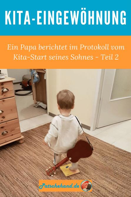 Thema Kita-Eingewöhnung: Grafik für Pinterest oder zum Teilen auf Mama-Blog Patschehand.de