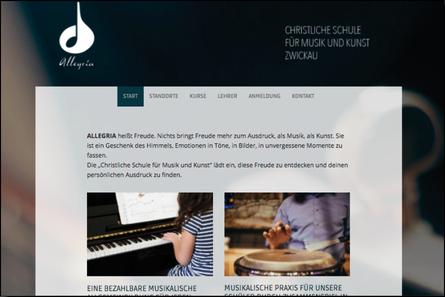 ALLEGRIA Zwickau | Web