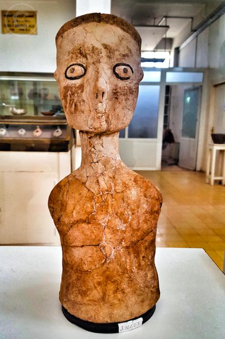Statue di Ain Ghazal - Museo Archeologico di Amman (Giordania)