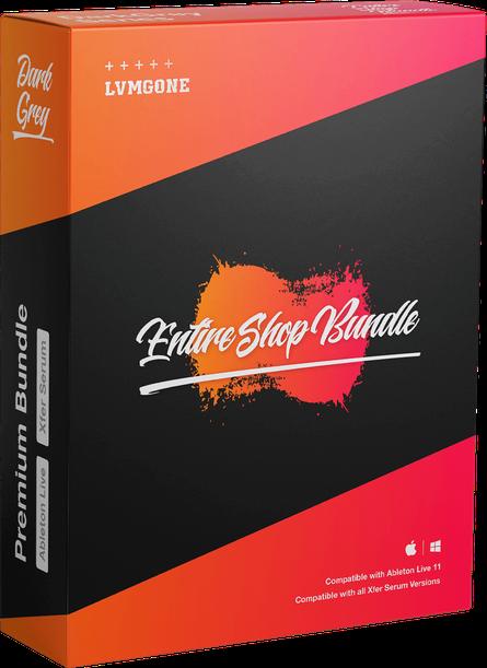 Entire Shop Bundle software box